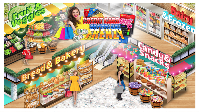 Shopping Mall Credit Card Girl screenshot 5