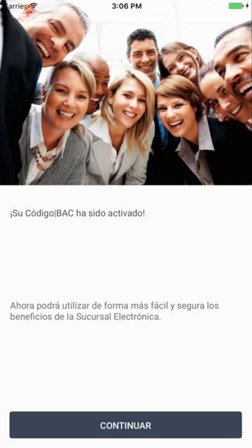 Código BAC Credomatic screenshot 5