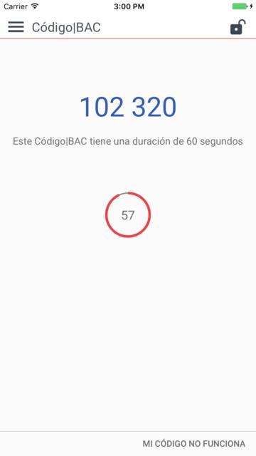 Código BAC Credomatic screenshot 9