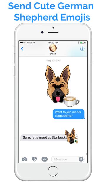 German Shep Emoji - GSD Emojis & Stickers screenshot 2