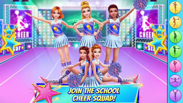 Cheerleader Champion Dance Off screenshot 6