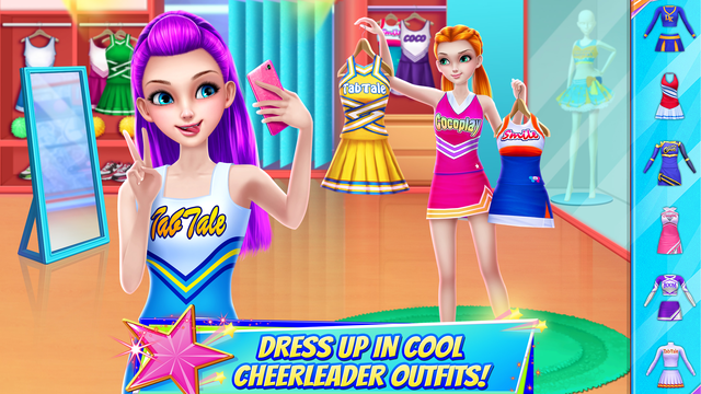 Cheerleader Champion Dance Off screenshot 7