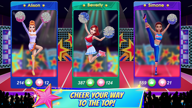 Cheerleader Champion Dance Off screenshot 9