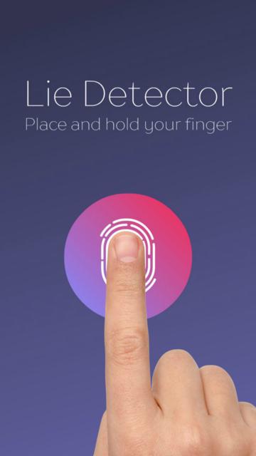 Lie Detector fingerprint simulator. Real prank screenshot 4