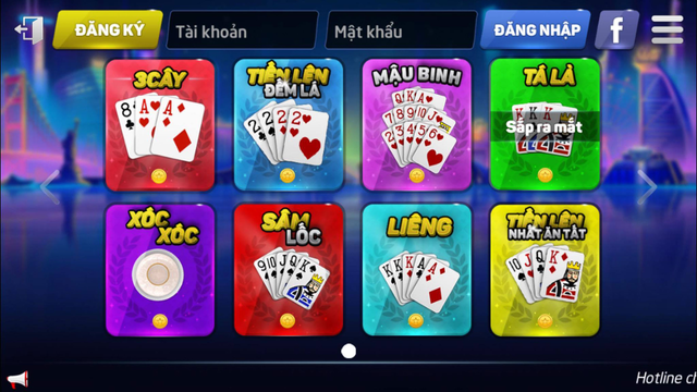 XVIP Game Danh Bai Online screenshot 1