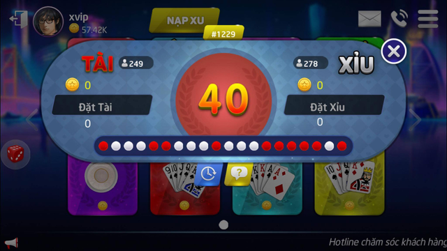 XVIP Game Danh Bai Online screenshot 2