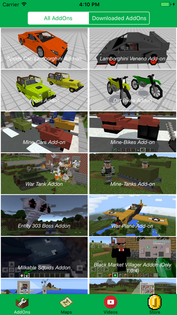CAR & BIKE ADD ONS FOR MINECRAFT PE GAMES screenshot 1