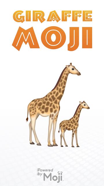 GiraffeMoji screenshot 1