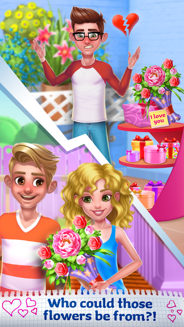 Heartbreak Girl - Boy's Crush screenshot 14