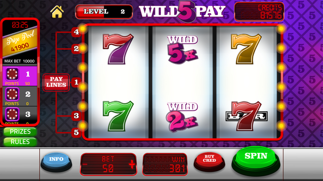 Slot Machines - Three Reel Slots screenshot 1