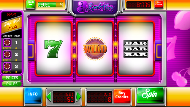 Slot Machines - Three Reel Slots screenshot 4