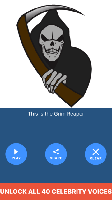 About: Grim Reaper Voice Changer Text to Speech Recorder