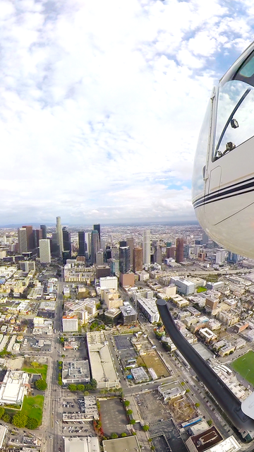 VR Los Angeles Helicopter - Virtual Reality 360 screenshot 3