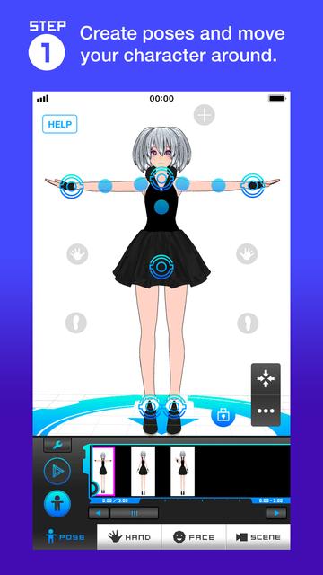 Bot3D Editor - 3D Anime Editor screenshot 20