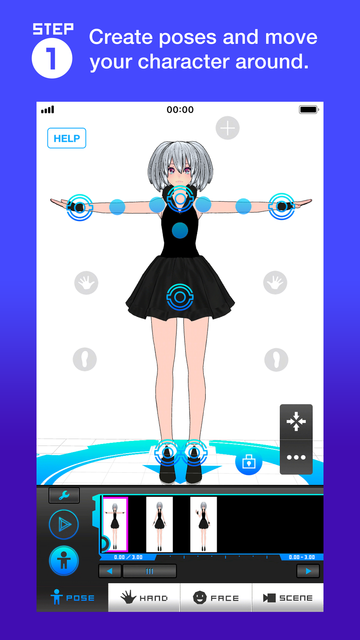 Bot3D Editor - 3D Anime Editor screenshot 8