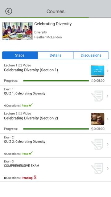 UltiPro Learning Mobile screenshot 5