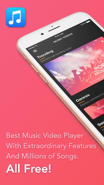 Video Player - Unlimited Music screenshot 1
