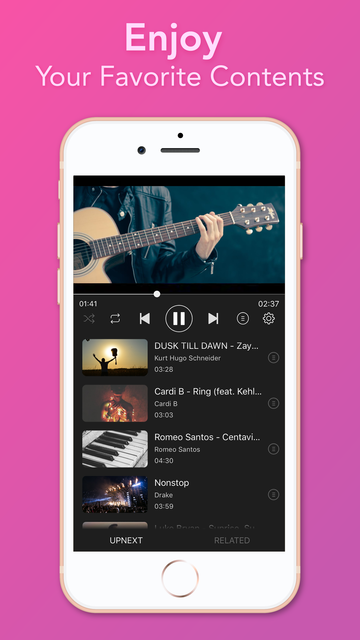 Video Player - Unlimited Music screenshot 3
