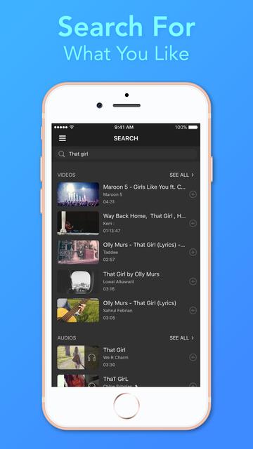 Video Player - Unlimited Music screenshot 4
