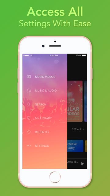 Video Player - Unlimited Music screenshot 9