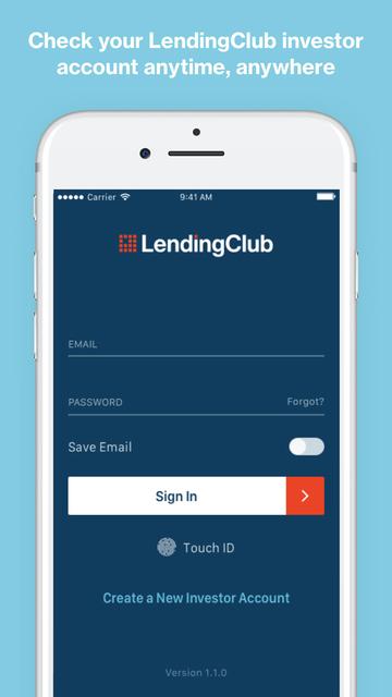 LendingClub Invest screenshot 1