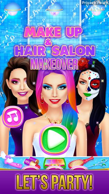 Make Up & Hair Salon Makeover screenshot 26