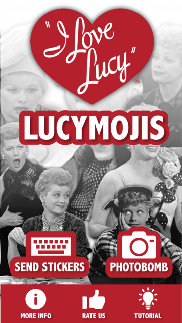 LUCYMOJIS – The I Love Lucy™ Official Emoji App screenshot 1