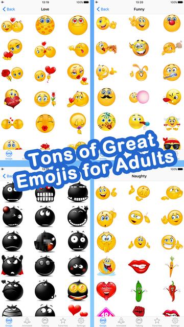 Emoji for Adult Texting screenshot 8