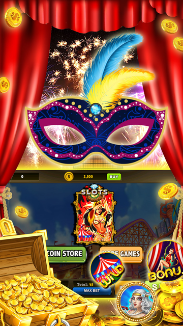 Carnival Secret Coin Chest – Pusher Slots & Party screenshot 1