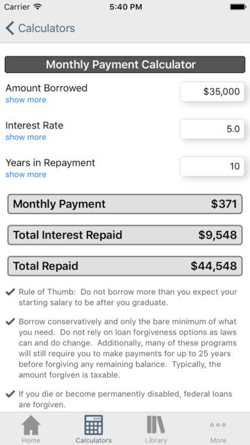 Financial Aid Badger screenshot 5