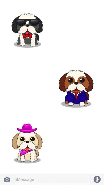 ShihTzuMoji - Shih Tzu Emojis screenshot 3