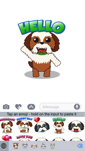 ShihTzuMoji - Shih Tzu Emojis screenshot 1