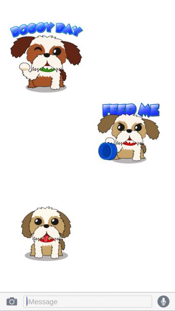 ShihTzuMoji - Shih Tzu Emojis screenshot 2