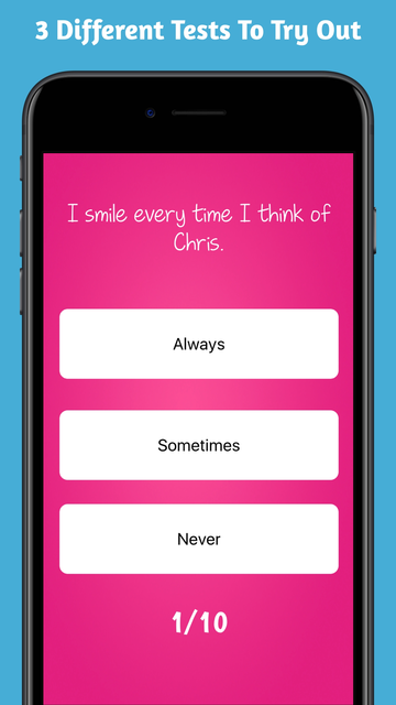 Love Tester - Crush Test Quiz screenshot 14