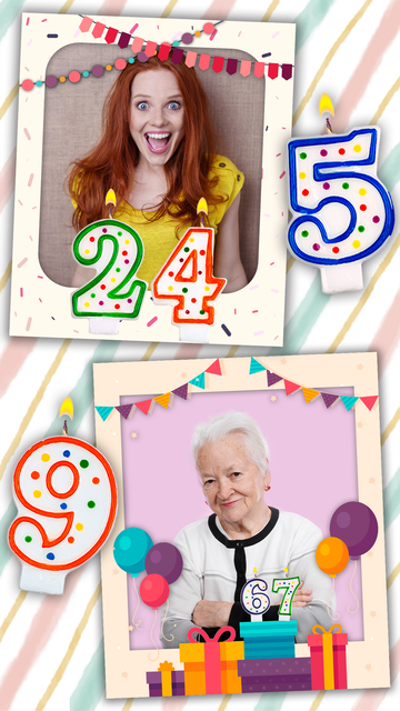 Birthday photo frames and stickers – Pro screenshot 4