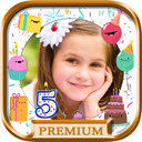 Icon for Birthday photo frames and stickers – Pro