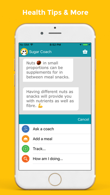 My Sugar Coach screenshot 2