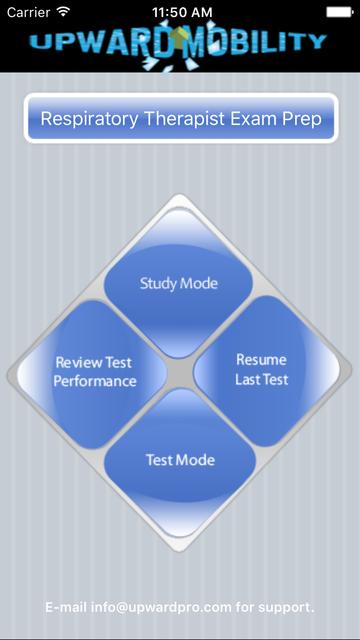 Respiratory Therapist Exam Prep screenshot 1