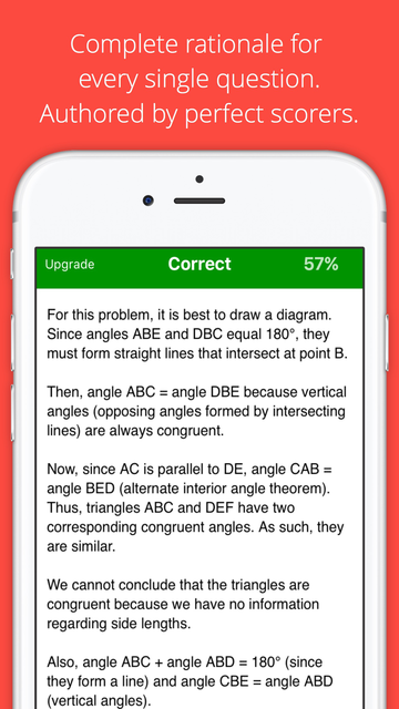 Allen Prep GMAT TestBank of Questions Study App screenshot 2