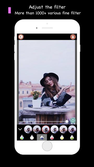 Filters Mix -Photo Editor Draw screenshot 2