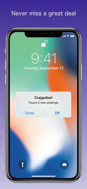 CraigsAlert 2 - Notification screenshot 3