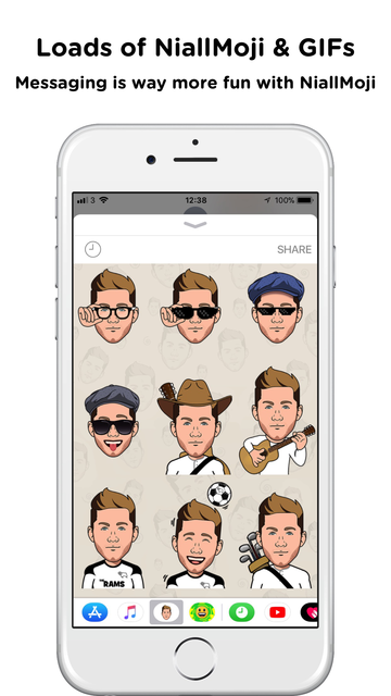 NiallMoji by Niall Horan screenshot 5
