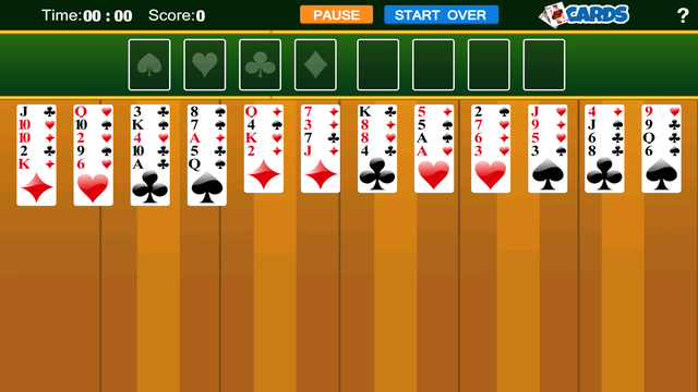 Solitaire Game - PRO screenshot 1