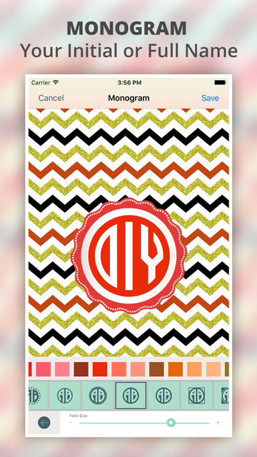 Monogram It - Wallpaper Maker screenshot 5