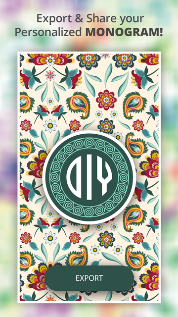 Monogram It - Wallpaper Maker screenshot 6