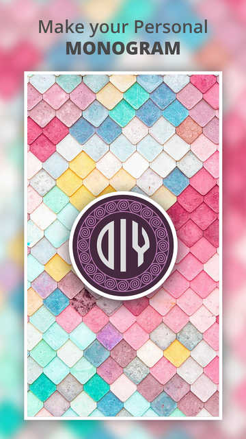 Monogram It - Wallpaper Maker screenshot 7