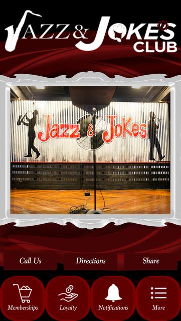 Jazz and Jokes Club screenshot 1