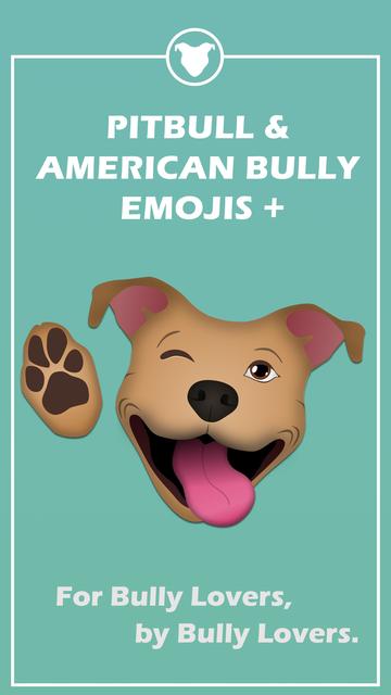 Pitbull & American Bully Emojis + screenshot 1