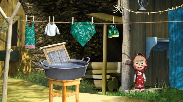 Masha and the Bear Clean House screenshot 2