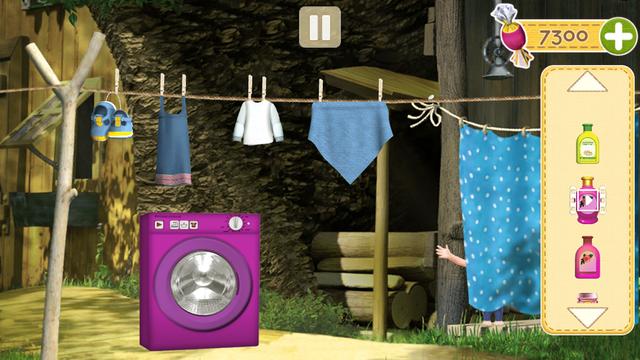 Masha and the Bear Clean House screenshot 6